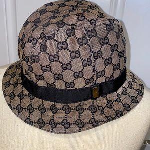 Authentic vintage Gucci bucket hat